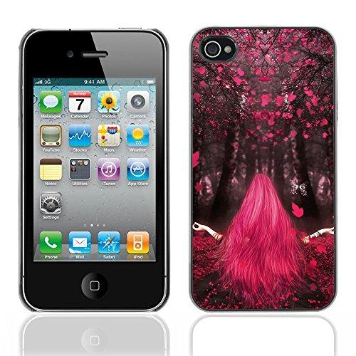 Graphic4You I Love House Musik Design Harte Hülle Case Tasche Schutzhülle für Apple iPhone 4 und 4S Design #14
