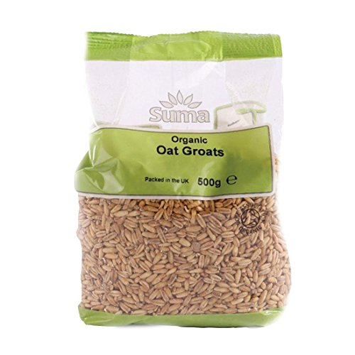 Suma Prepacks - Organic | Oat Groats - Organic | 3 x 500g