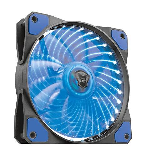 Trust GXT 762B Beleuchteter PC-Gehäuselüfter (120 mm) blau