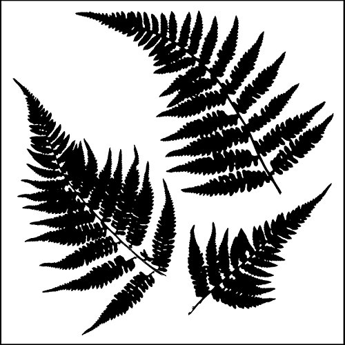 Crafters Workshop Kunststoff Vorlage 6 x 6-inchmini Ferns -