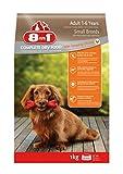 8in1 Hund Erwachsen Klein Huhn (Trockenfutter für kleine Hunderassen mit Hühnchen), 1 kg Beutel, 4er Pack (4 x 1 kg)