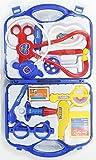 #6: Doctor Set Doctor Nurse Family Oprated Set Medical Suitcasetoy for Kids (Blue)