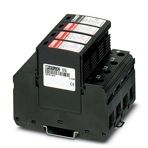 Preisvergleich Produktbild PHOENIX CONTACT Blitzstrom / Überspannungsableiter, Typ 1/2 VAL-MS-T1/T2 335/12.5/3+1, 2800184