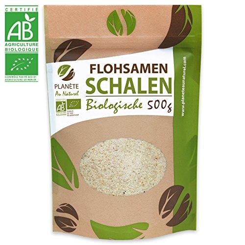 Bio Flohsamen Schalen 500g