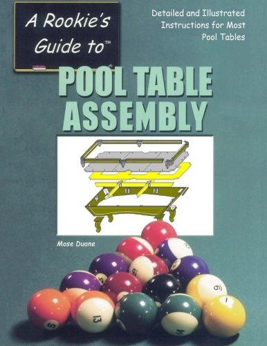 Pool Table Assembly: Detailed and Illustrated Instructions for Most Pool Tables: 1