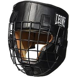 Leone 1947- Casco de luchador, color negro, talla L
