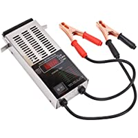 CCLIFE 12V LCD Comprobador digital de carga de batería 100 Amperios