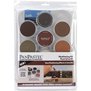 Colorfin PanPastel Ultra Soft Artist Pastel Set 9ml 7 kg-Weathering-Rust and Earth