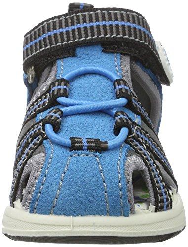 Primigi Pak 7569, Chaussures Marche Bébé Garçon Bleu (Turch/grig.sc.)