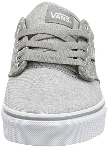 Vans Atwood, Baskets basses femme Gris - Grey (Menswear - Midgray/White)