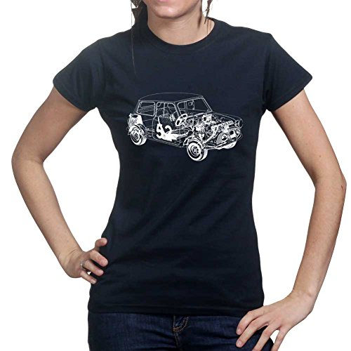 Austin Mini Classic 1275 Car Ladies Womens T shirt Mini Womens Sweatshirt