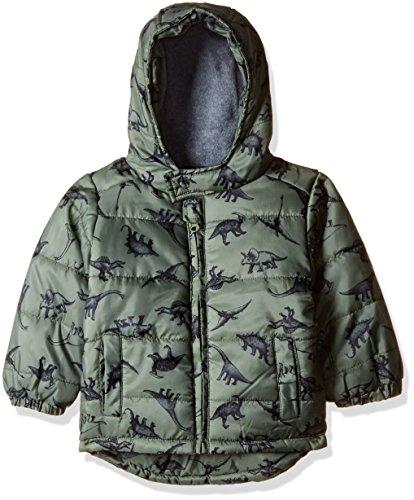 Fox Baby Boys' Jacket (666623840018_Army Green_18)