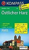 Östlicher Harz: Wanderkarte mit Aktiv Guide und Radwegen. GPS-genau. 1:50000 (KOMPASS-Wanderkarten, Band 453)