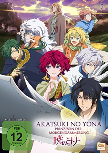 Akatsuki no Yona – Prinzessin der Morgendämmerung, Vol. 5 [Alemania] [DVD] 51 hbN8pxYL