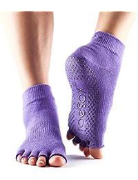 ToeSox - Half Toe Ankle Yoga Socks - Light Purple Small