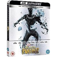 Black Panther 4K Ultra HD Limited Edition Steelbook / Import / Region Free Blu Ray