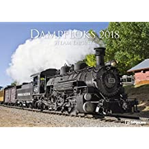 Dampfloks 2018 - Eisenbahnkalender, Lokomotivkalender, Broschürenkalender  -  42 x 29,7 cm