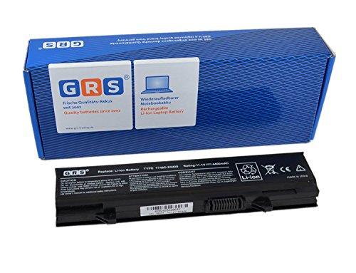 GRS Notebook Akku für Dell Latitude E5400, E5500, E5410, E5510, ersetzt: KM742, KM760, T749D, WU841, 451-10616, RM668, KM970, 312-0762, MT332, MT196, Laptop Batterie 4400mAh, 11.1V