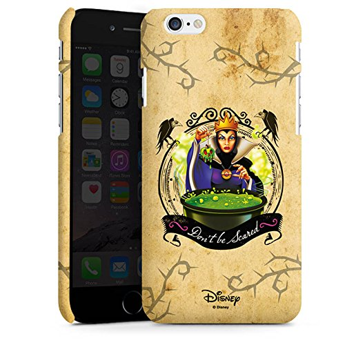 Apple iPhone 7 Plus Silikon Hülle Case Schutzhülle Walt Disney Schneewittchen Hexe Geschenk Premium Case matt