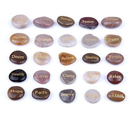irierende Steine (25Verschiedene Worte) 25 ()