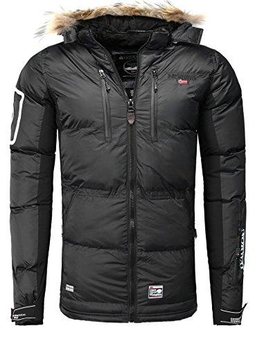 Geographical Norway–Chaqueta de plumas, chaqueta de invierno exterior, chaqueta funcional para hombre...
