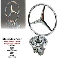 1 x capó campana primavera Logo Emblema para Mercedes Benz W124 W202 W203 ...