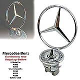 D&D (Drag & Drift)) 1 x Motorhaube Frühlings-Logo-Emblem für Mercedes Benz W124 W202 W203 W208 W210 W220