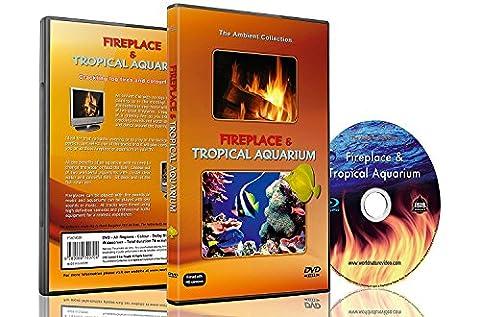 Ambiente DVD - Kamin-und Tropen-Aquarium - 2 Stunden HD-Video-Stimmungen mit 25 Minuten Endlosschleifen