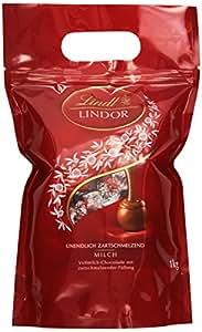 Lindt & Sprüngli Lindor Kugeln Vollmilch 1kg, 1er Pack