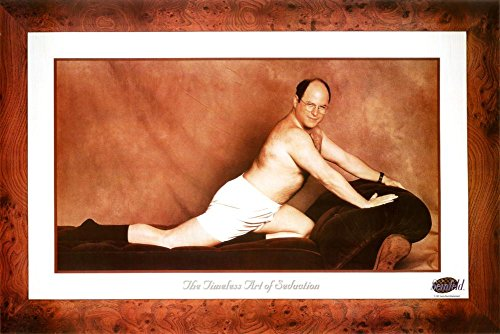 Click for larger image of Seinfeld Poster George The Timeless Art of Seduction (91,5cm x 61cm)