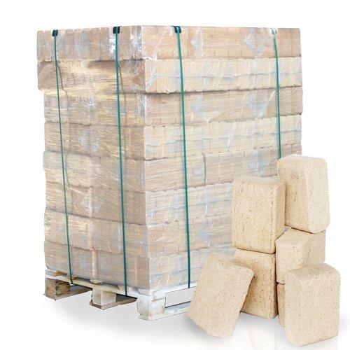 PALIGO RUF Holzbriketts Nadelholz Kamin Ofen Brenn Holz Heiz Brikett 10kg x 96 Gebinde 960kg / 1 Palette HEIZFUXX®