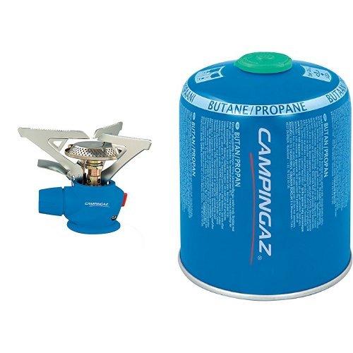 Campingaz Kocher Twister Plus 270 PZ + Carry Box & Campingaz Ventil-Gaskartusche CV 470 Plus