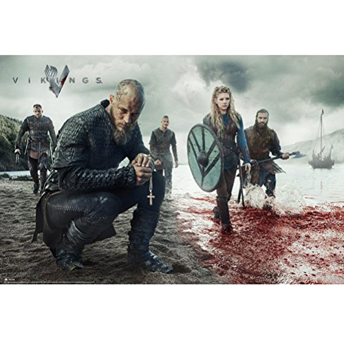 GB eye, Vikings, Blood Landscape, Maxi Poster, 61x91.5cm