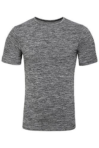 Sundried t-shirt uomo, attillata, sportiva, senza cuciture. abbigliamento sportivo prodotto (small)