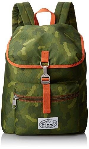 Poler Stuff Bagpack Field Pack, Green Camo, 45 x 35 x 6 cm, 15 Liter, POLBAGFIE