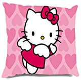 Hello Kitty Heart Printed Micro fiber fi...