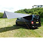 DEBUS Campervan Sun Canopy Awning - Anthracite Grey 14