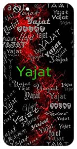 Yajat (Lord Shiva) Name & Sign Printed All over customize & Personalized!! Protective back cover for your Smart Phone : Google Nexus-6