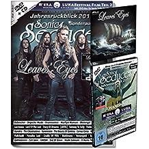 Sonic Seducer Jahresrückblick 2017 + DVD: M'Era Luna 2017 - Der Film Teil 2 + über 60 Clips + Titelstory und exkl. EP zum Album Sign Of The Dragonhead von Leaves Eyes, Bands: Depeche Mode u.v.a.