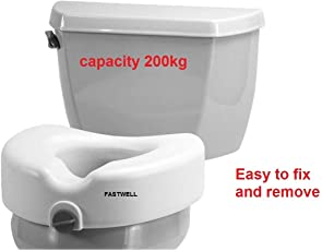 Fastwell premium imported commode Raiser Suitable For Adults,Seniors & Patient
