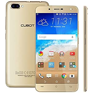 [Mother's Day Gift Promotion] Cubot Rainbow 2 3G Smartphone 5.0'' Android 7.0 Dual Rear Camera Dual SIM MTK6580A Quad-Core 1.3GHz 1GB RAM 16GB ROM