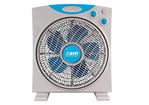 Ram 300mm Eco Fan 12 Fan 3 Speed Air Mover Oscillate Hydroponics Cooling Fan