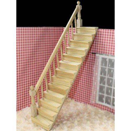 Winomo 112 fai da te casa delle bambole in miniatura scale for Scale in legno fai da te