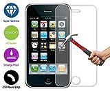 ZeWoo Display Glas Panzerfolie für Apple iPhone 3 / 3G / 3Gs (3.5 Zoll) Glasfolie Hartglas Schutzfolie 9H *2.5D, nur 0,33mm dünn