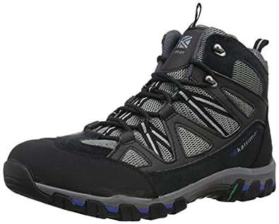 Karrimor Supa Iii Mid, Chaussures de Randonnée Hautes Homme - Noir (black/grey (bkg)), 46 EU