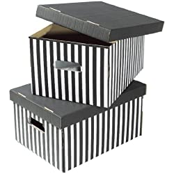 Compactor RAN613 - Set de 2 cajas de carton con tapa