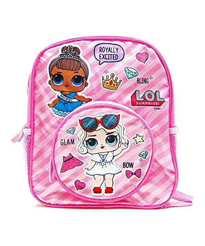 Accessory Innovations L.O.L. Surprise! Glam Bling Bow 12-inch Pink Backpack da0a5c8047a5