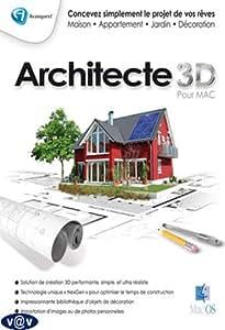 architecte 3d pour macintosh logiciels