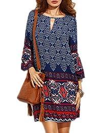 Amazon.fr   Robes - Femme   Vêtements   Soirée, Casual, Cocktail ... 80217952d39