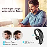 Mpow Bluetooth Headset, [Business Stil] Wrieless Auto Headset,Stereo-Sound Ohrhörer Freisprechen mit Mikrofon,Bluetooth 4.1 in Ear Kopfhörer mit CVC-Technologie für iPhone iPad,Samsung,Sony,HTC, usw. - 2